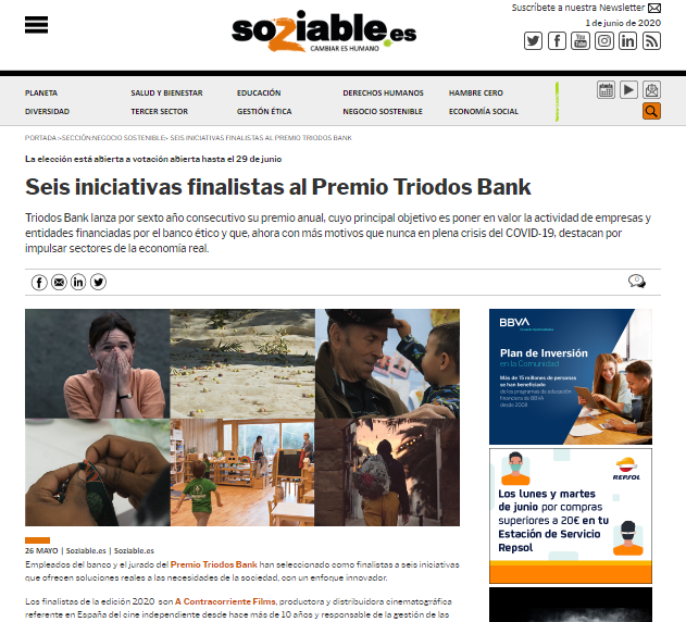 Imagine Montessori School, finalista premios Triodos Bank –  Soziable