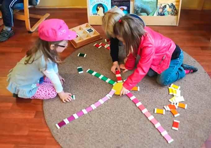 Una mañana Montessori